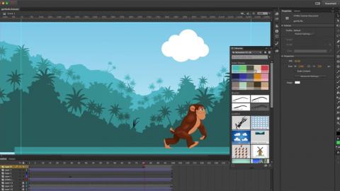 Học Illustrator, photoshop và animate cc 2017 thông qua bài tập thực tế