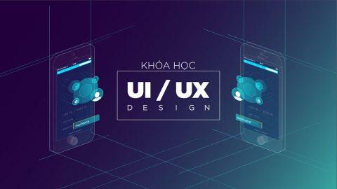 Học thiết kế UX/UI cho ứng dụng và website